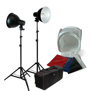 "30"" Light Tent Kit Table Top photography light Tent Cube Photography Studio Photography Lighting Kit with  Carrying case, AGG431"