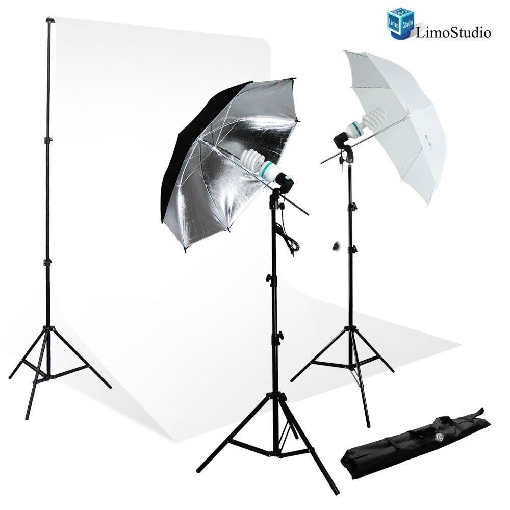 700W Photography Light Photo Video Studio Umbrella Lighting Kit 10 x 10 ft. Studio backdrops Backgrounds Support kit AGG711  sc 1 st  Limostudio : photographer lighting kit - www.canuckmediamonitor.org