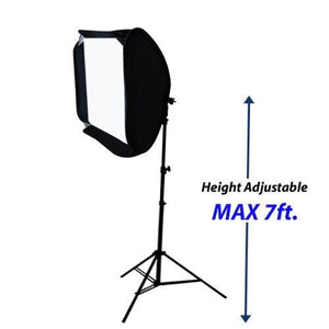 "Photography Photo Studio 24"" Flash Lighting Diffuser Softbox Speedlight with Light Stand Tripod, AGG777"