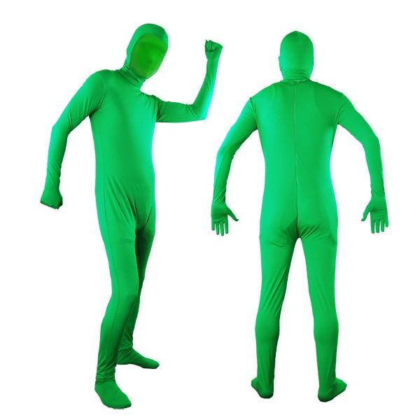 Photo Video Chromakey Green Suit Green Chroma Key Body Suit for Photo Video Effect, AGG779