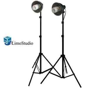 400W Photography Studio Continuous Lighting Light Kit Bowl Reflector, AGG782