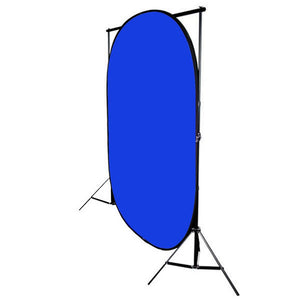 Photography Easy Chromakey Backdrop Green & Blue 5'x7' Collapsible Chromakey Background Photo Disc, AGG811V2