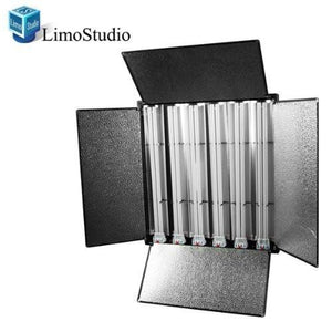 LS Photo Pro Studio 1650 Watt LS Photo Studio Digital Lighting Fluorescent 6-bank Barndoor Light, AGG825