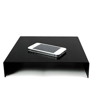 LimoStudio Table Top, 9.5 x 9.5 inch, Black & White Acrylic Reflective Display Table Kit for Product Photography, SRE1027