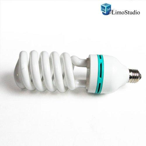 Professional Quality 85 Watt Compact Fluorescent Full Spectrum Photo Light Bulb Photography, AGG866