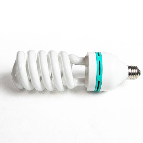 105 Watt, 6500 K Fluorescent Daylight Light Bulb for Photography Lighting, AGG877
