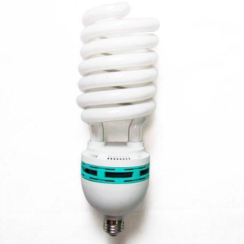 Photo Studio 105W CFL Photography Video Daylight White Balanced Fluorescent Light Photo Bulb 6500K, AGG880
