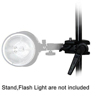 "Super Clamp 1/4"" 3/8"" thread Light stand Support for Photo Photography Studio, AGG886-A"