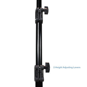 2 Sets of 86-inch Tall Light Stand Tripod for Photo & Video Studio with Carry Bag, Photo Studio Kit, AGG888