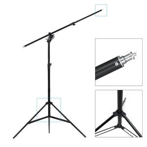 10ft Two Way Tripod Boom Light Stand for Photo Photography Video Studio, AGG889