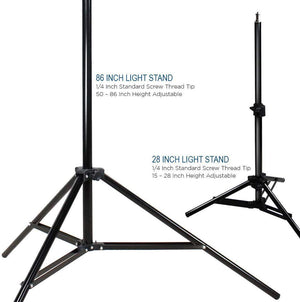 LimoStudio 600W Photography Triple Photo Umbrella Light Lighting Kit, Video, and Portrait StudioLighting Kit With 3 CFL Photo Bulbs, Black/Silver Reflective Umbrellas, and Carrying Case, SRE1148