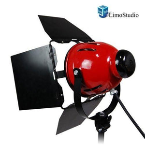 Professional Photo Video Studio 800W Continuous Barndoor Light Head Photography, AGG942