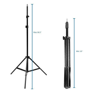 Photo Studio Barndoor Light 400W Continuous Lighting Kit, AGG949