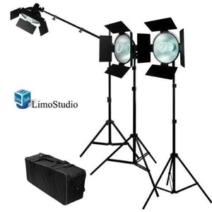 Photo Studio LED 30W 1600Lumen Continuous Lighting Hair Boom Light Lighting Kit, AGG952_V2