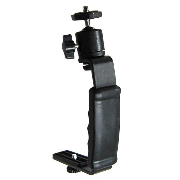 Photographic Photo Video L-bracket with Ballhead Mounts For Digital SLR Camera Camcorder, AGG974