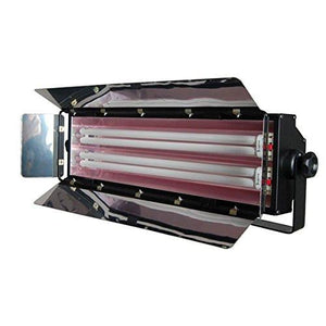 LimoStudio 550W Digital Light Fluorescent 2-Bank Barndoor Light Panel for Photo Video Studio Lighting, AGG976