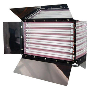 Photography Photo Video Studio 1650W Digital Light Fluroescent 6-Bank Barndoor Light Panel, AGG993