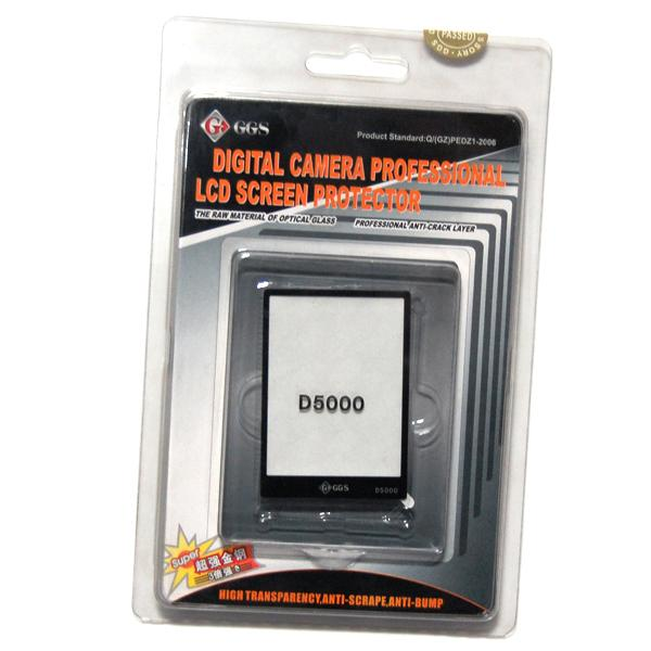 LCD Glass Screen Protector for Nikon D5000, AGG997