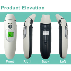 Touchless Forehead & Ear Thermometer for Baby, Kids, Adults, Elderly, Digital Infrared Thermometer Medical Grade FDA, SRE1450