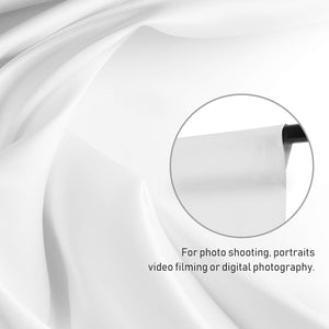 10 ft X 10 ft White Chromakey Photo Video Photography Studio Fabric Backdrop Background Screen, SRE1173