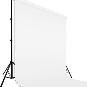9 ft X 15 ft White Chromakey Photo Video Studio Fabric Backdrop, Background Screen, Pure White Muslin, Photography Studio, SRE1082