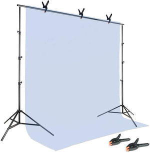 [12 PCS] Photography Backdrop Support Spring Clamp for Background Muslin, Canvas, Paper, Chromakey Screen, Heavy Duty Clip, Photo Studio, SRE1283