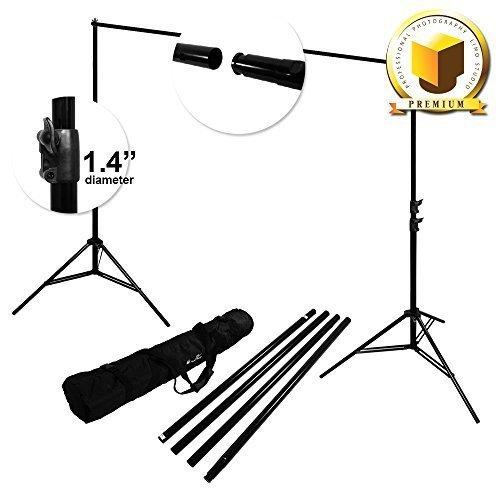 PREMIUM PRO STUDIO 8.5' x 10' PHOTO BACKDROP SUPPORT STAND KIT, LMP108