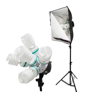 2000W Digital Photography Studio Softbox Lighting Kit Light Set + Carrying Case  Pro Studio, LMS109