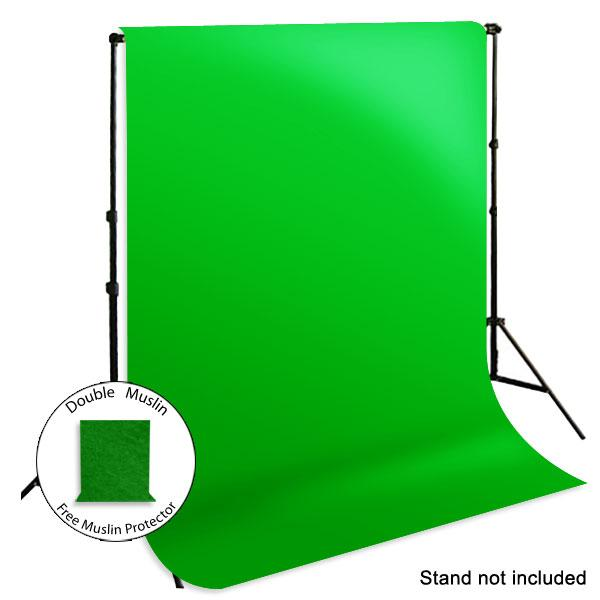 6 x 9 ft. Photo Studio Green Chromakey Muslin Backdrop Background, Muslin, LMS185