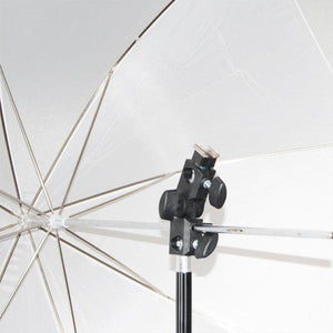 Photography Studio Lighting and Umbrella Reflector Shoe Mounting Clamp, LMS370