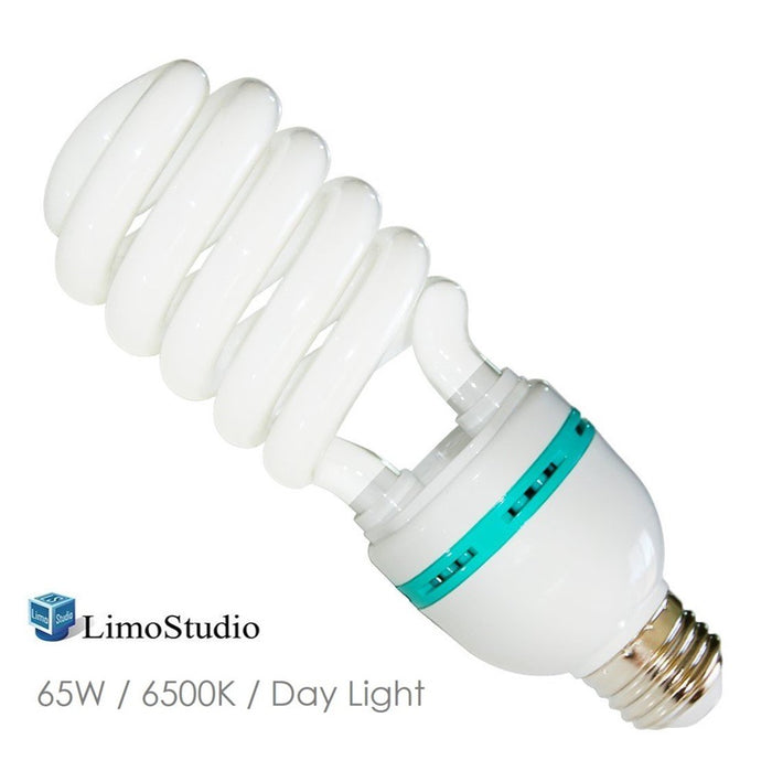 LimoStudio Photography Studio 65 Watt Fluorescent Light Day Light Balanced CFL Bulb, LMS734