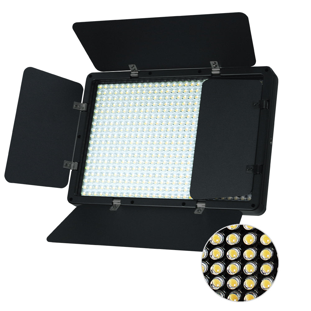 Led Barn Door Light Panel Dimmable Brightness Control Color