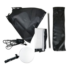 Loadstone Studio Photography Softbox Light Lighting Kit 144 LED Photo Light & 18 x 26 inch Soft Box with White Diffuser, WMLS4605