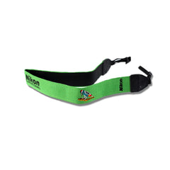 Premium Photo Camera Green Neck/Shoulder Sling Strap Bird Design for Nikon DSLR Camera D90 D40 D60 D3000