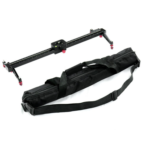 24 inch/60cm Scale Video Stabilization System DSLR Camera Compact Dolly Track Slider
