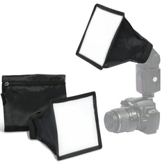 Loadstone Studio 2-Pack Collapsible Light Diffuser Cover, Mini Softbox for Camera Photo Video LED Light Panel & Flash