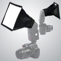 Loadstone Studio 6 x 7 inch Foldable Light Diffuser Cover, Mini Softbox for Photo and Video Shooting, LED Light Panel &