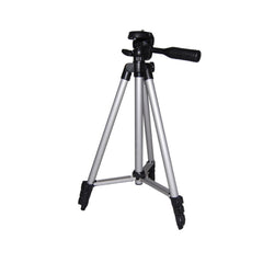 "50"" Lightweight Table Top Travel Tripod Camera Video Stand with Cellphone Holder"