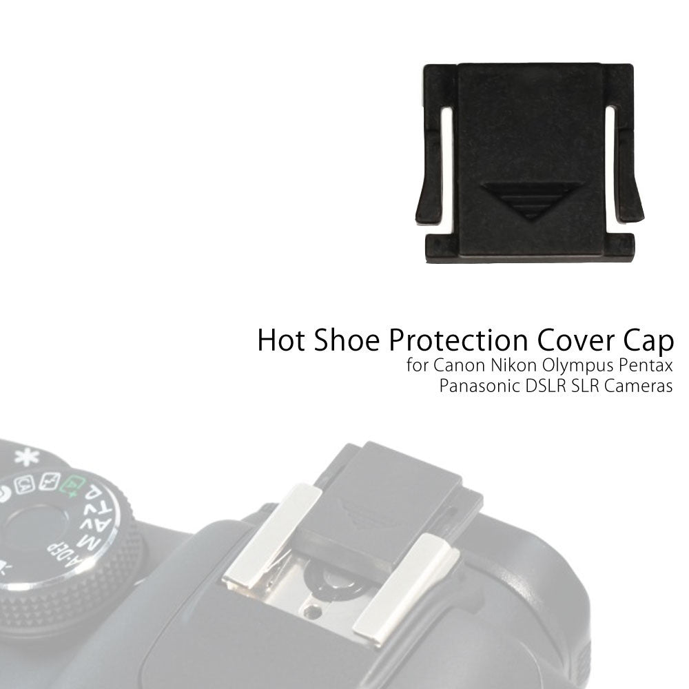 7 PCS of Hot Shoe Protector Cover Cap for Canon Nikon Olympus Pentax DSLR SLR, Photo Video Studio