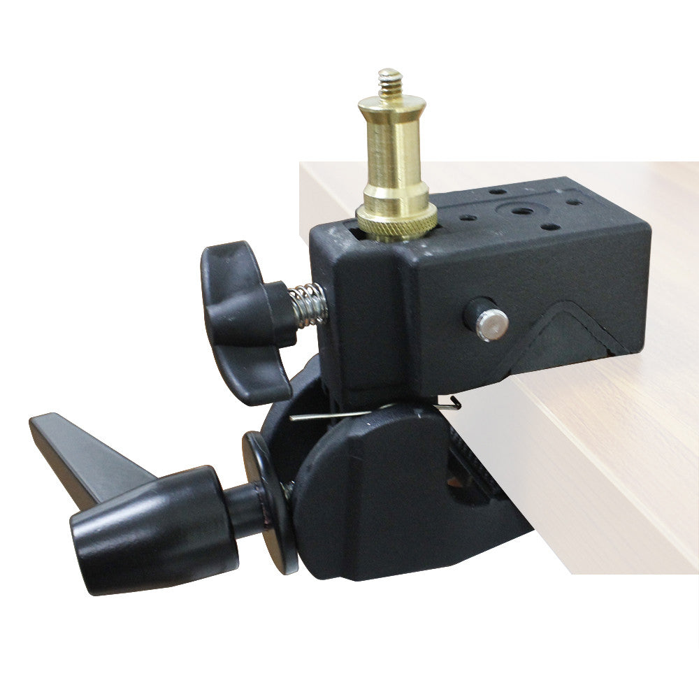 Super Clamp with Standard Stud for Photo Photography Studio