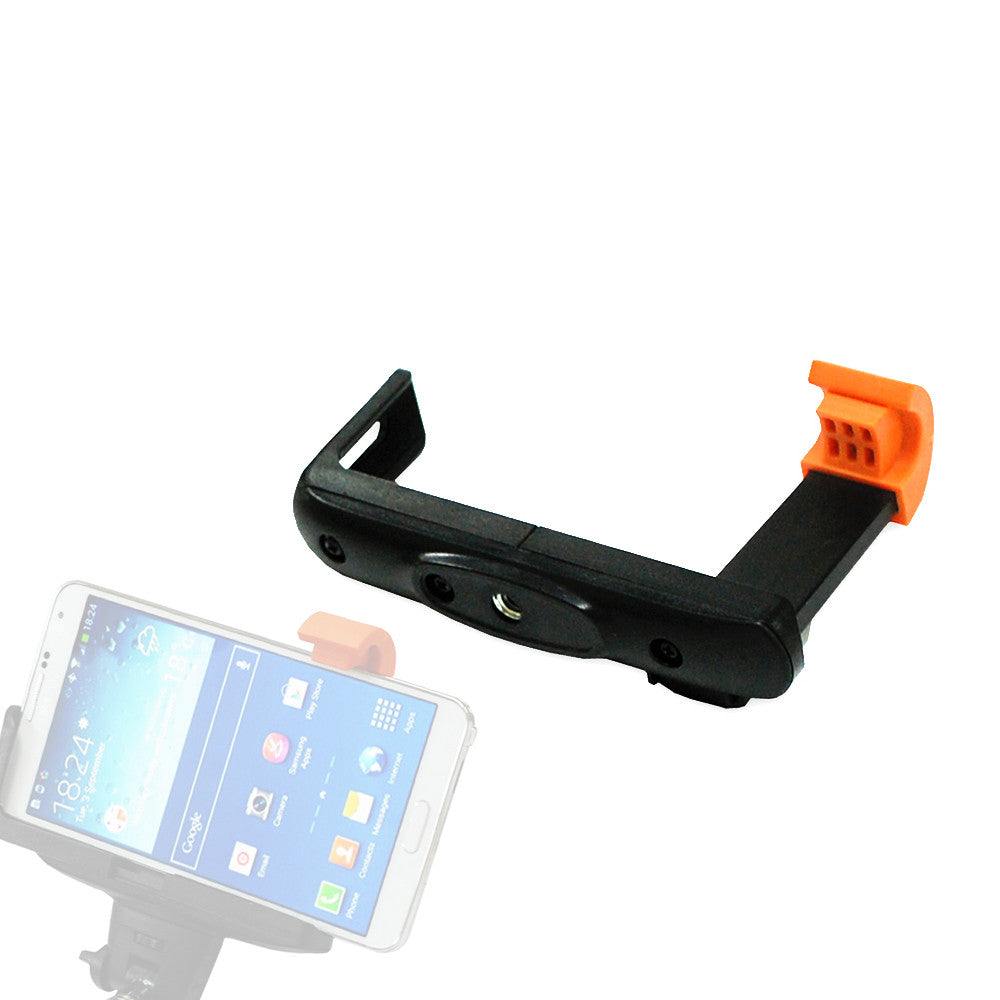 "iPhone and Android Adjustable Holder Bracket for Standard 1/4""-20 Tripod Mount Monopod for Photography and Video"