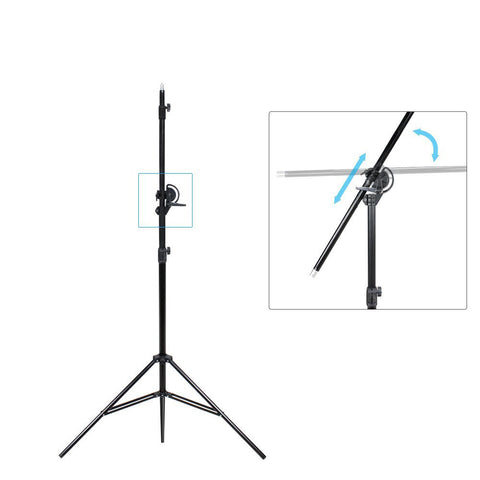 10ft Two Way Tripod Boom Light Stand for Photo Photography Video Studio