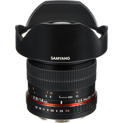 Samyang 14mm F2.8 AS IF ED UMC Lens for Canon