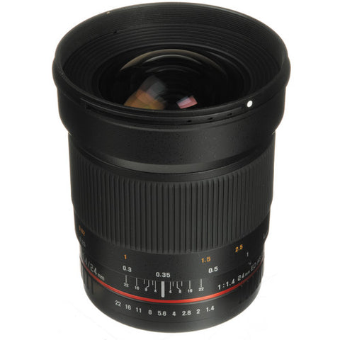 Samyang 24mm F1.4 ED AS IF UMC Lens for Canon