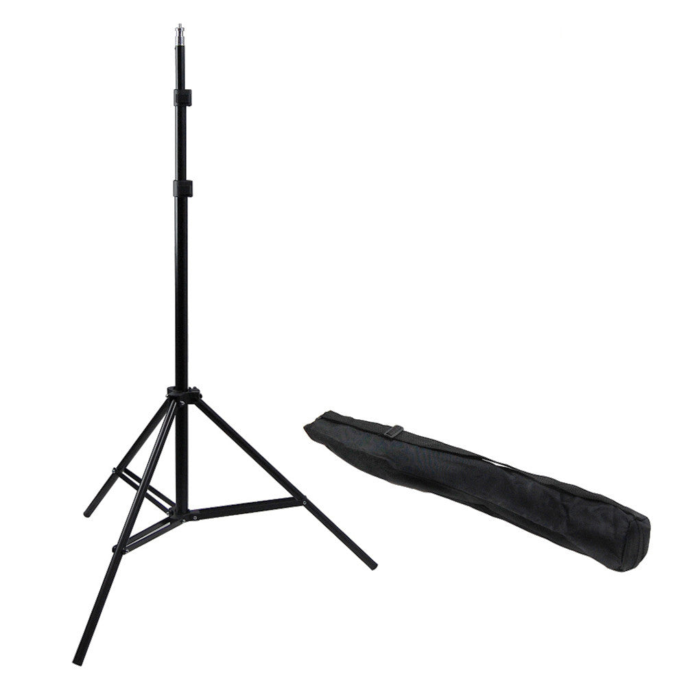 "84"" Photo Video Portable and Multi-Purpose Light Stand Complete with Convenient Travel Bag"