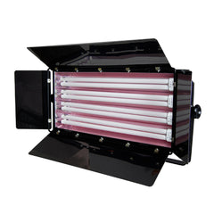 1100W Fluorescent Continuous Cool Light 4-Bank Photography Video Lighting Kit with Barndoor by Loadstone Studio
