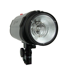250W Monohead Studio Flash Light Head 5600K Daylight Balanced Universal Purpose Strobe Lighting Silver
