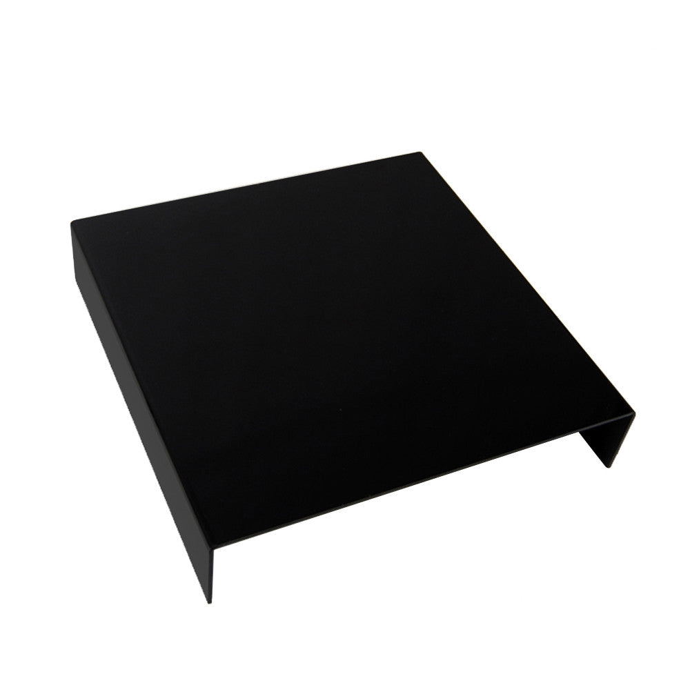 "10"" x 10"" Black Acrylic Reflective Photographic Display Shooting Table for Product Jewelry Photography"