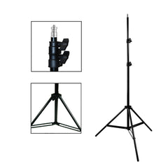"600W Photo Video Light Kit 6500K Daylight Balanced Continuous Lighting with 3x 45W CFL Bulb, 2x 33"" White Umbrella by Loadstone Studio"