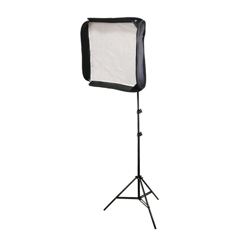 "20""x20"" Softbox and Light Stand Combo for Portable Speedlight Flash Diffusion for Photography Lighting"